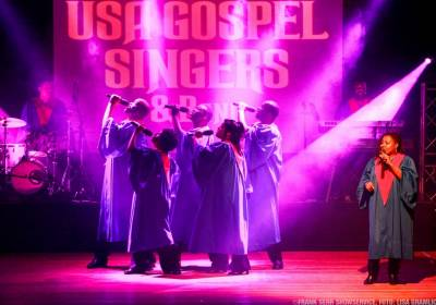 The Original USA Gospel Singers & Band (Nachholtermin)