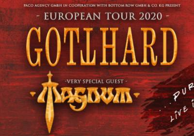 Gotthard: with very special guest MAGNUM